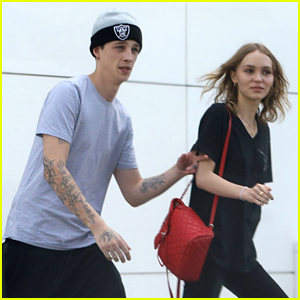 Lily-Rose Depp Shops With Rumored Boyfriend Ash Stymest