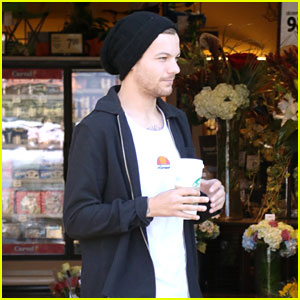 Louis Tomlinson Celebrates First Father's Day in Los Angeles