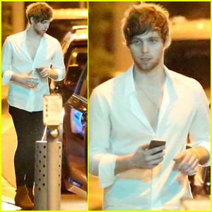 Luke Hemmings Has a Night Out With Girlfriend Arzaylea After Australian Vacation