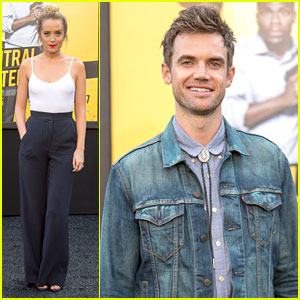 Megan Park & Tyler Hilton Make it a Date Night for 'Central Intelligence' Premiere