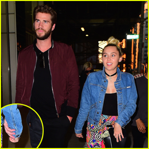 Miley Cyrus Holds Hands With Liam Hemsworth on Date Night