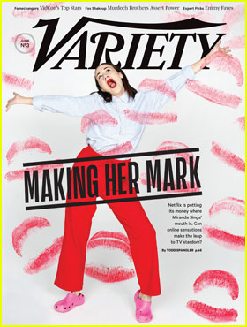 Miranda Sings Covers 'Variety' Magazine!