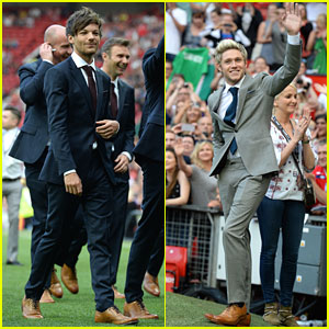 Louis Tomlinson Boasts About Soccer Skills Ahead of Soccer Aid Game with Niall Horan