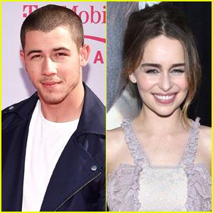 Nick Jonas Recalls Meeting Game of Thrones' Emilia Clarke: 'It Was Highly Embarrassing'