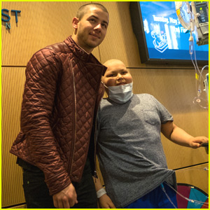 Nick Jonas Brightens the Day at a Children's Hospital
