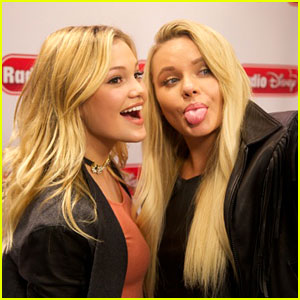 Olivia Holt Reveals Her Celebrity Crush On 'Alli Simpson Show' Radio Disney Show