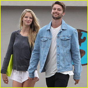 Patrick Schwarzenegger Shops With Abby Champion Before Weekend Party