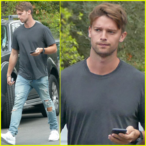 Patrick Schwarzenegger Heads Out After Relaxing Memorial Day Weekend