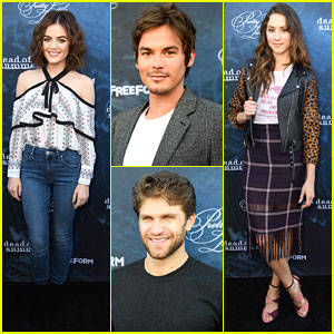 Keegan Allen & Tyler Blackburn Debate Spoby & Spaleb at PLL Screening Event