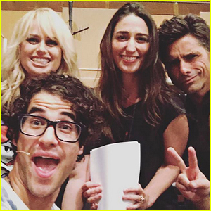 Darren Criss Rehearses for 'Little Mermaid' with Sara Bareilles (Video)
