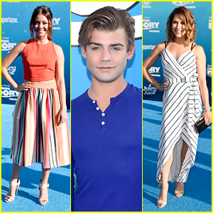 Sarah Hyland Joins Garrett Clayton at 'Finding Dory' Premiere