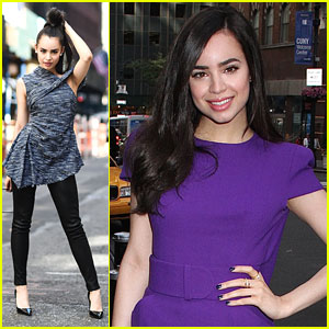 Sofia Carson Jets Out of NYC Ahead of Shanghai Disney Resort Special Telecast