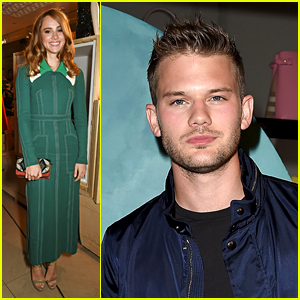 Suki Waterhouse & Jeremy Irvine Celebrate With Burberry