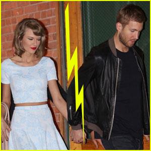 Taylor Swift & Calvin Harris Break Up