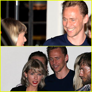Taylor Swift's Boyfriend Tom Hiddleston Gives Her the Biggest Smile in Nashville