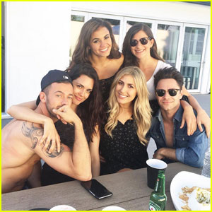 Torrey DeVitto BBQ's With New Boyfriend Artem Chigvintsev for Memorial Day Weekend!