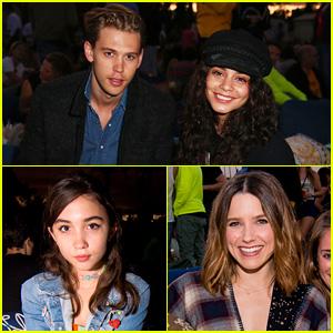 Vanessa Hudgens Brings Austin Butler to 'Mean Girls' Summer Movie Screening!