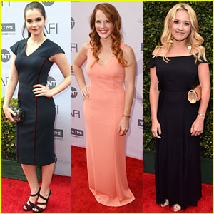 Vanessa Marano & Katie Leclerc Join Emily Osment at AFI Life Achievement Award Gala Tribute