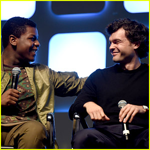 John Boyega Welcomes Alden Ehrenreich to 'Star Wars' Family!
