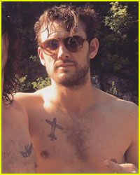 Alex Pettyfer Goes Shirtless for Fourth of July in Tuscany!