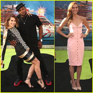 Allison Holker & Stephen 'tWitch' Boss Hit 'Ghostbusters' Premiere Before Dance Awards Dinner
