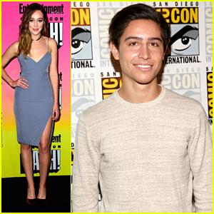 Alycia Debnam-Carey & Lorenzo Henrie Reveal New 'Fear of the Walking Dead' Trailer at Comic-Con