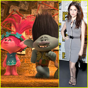 Anna Kendrick Debuts New 'Trolls' Clip at Comic-Con 2016 - Watch Here!