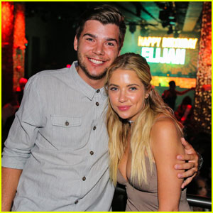 Ashley Benson Celebrates Her Cousin's Birthday in Las Vegas!