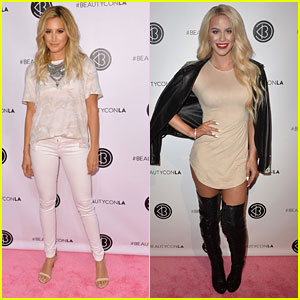 Ashley Tisdale Launches Two New Illuminate Products for BeautyCon