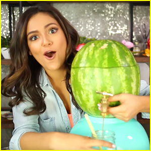 Bethany Mota Tries Out Pinterest Projects In New Vid - Watch Here!