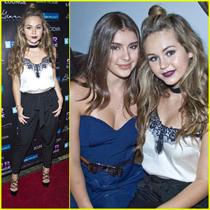 Brec Bassinger & Kalani Hilliker Step Out For Teen Project LA's Teen Choice Pre-Party
