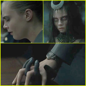 Cara Delevingne's Character Enchantress is Introduced in New 'Suicide Squad' Movie Clip