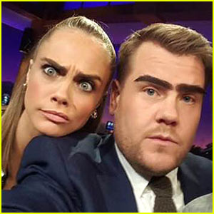 Cara Delevingne Takes on Dave Franco & James Corden in a Sick Rap Battle!