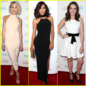 Chelsea Kane & Naya Rivera Join Elizabeth Henstridge at 'Raising The Bar' Parkinson's Fundraiser Event