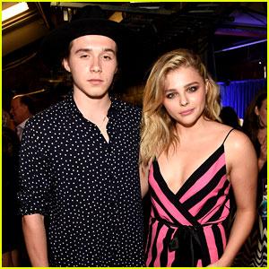 Chloe Moretz Gets Boyfriend Brooklyn Beckham's Support at Teen Choice Awards 2016!