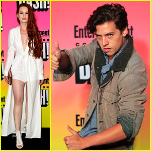 Madelaine Petsch & Cole Sprouse Bring 'Riverdale' To Comic-Con