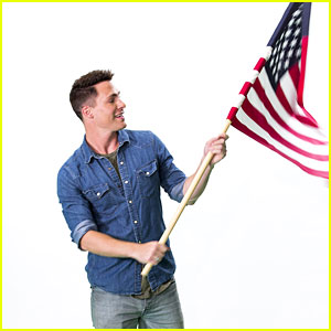 Colton Haynes Fronts Smiles For Soldiers Campaign For DoSomething.Org