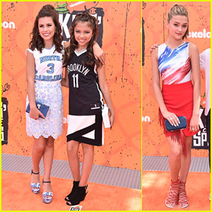 Cree Cicchino, Madisyn Shipman & Lizzy Greene Perfect Their Sporty Style at Kids Choice Sports 2016