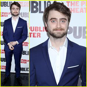 Daniel Radcliffe Celebrates 'Privacy' Opening Night!