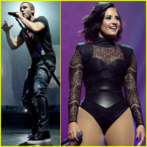 Demi Lovato & Nick Jonas Take You Behind-the-Scenes of the Honda Civic Tour