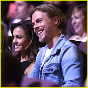 Derek Hough Takes Hayley Erbert To 'I Am Not Your Guru' Documentary Event