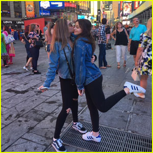 Luna Blaise & Ellise Take NYC By Storm!