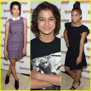 Emma Fuhrmann & Asia Monet Ray Hit the Carpet at 'Underdogs' Screening