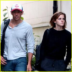 Emma Watson Steps Out in London with Boyfriend Mack Knight