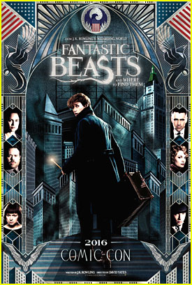 'Fantastic Beasts & Where To Find Them' Debuts New Poster at Comic-Con