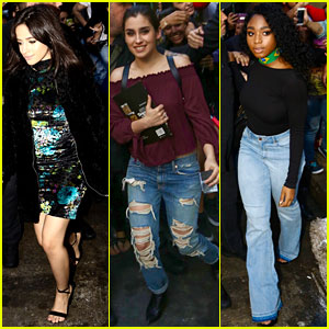 Fifth Harmony Gets Mobbed By Fans in Rio