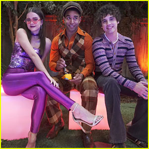 Maia Mitchell Is A Glam Disco Queen in 'Fosters' First Look Pics!