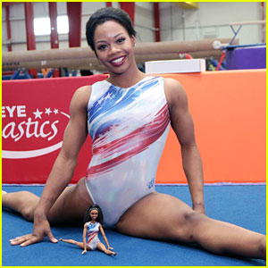 Gabby Douglas Unveils Barbie Doll After Making Olympic Team For Rio
