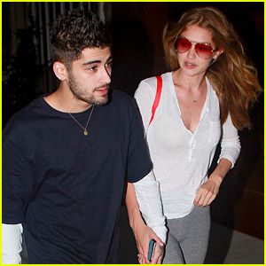 Zayn Malik Holds Hand with Gigi Hadid on Date Night!