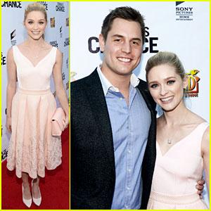 Greer Grammer & Boyfriend Tyler Konney Couple Up at 'Emma's Chance' Premiere